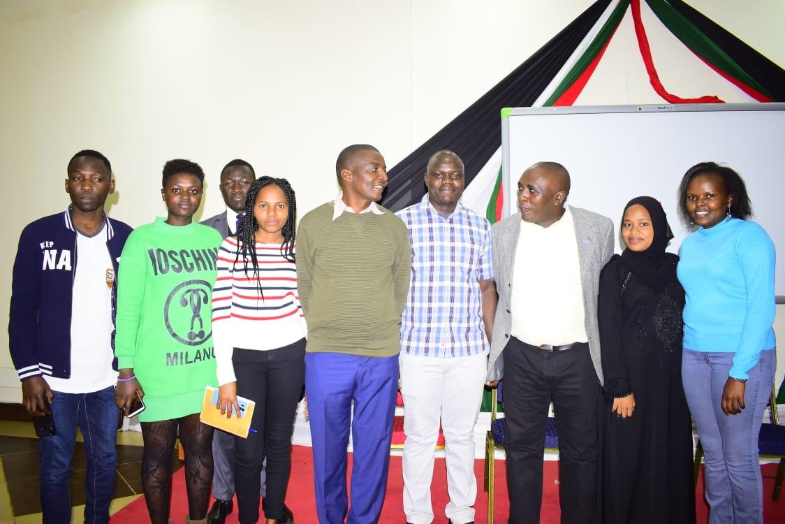 Mentees from 4 Kenyan Universities